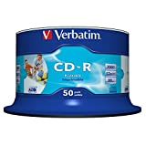 CD-R 80 Min./700 MB printable, Spindel, 52-fach, PG=50ST
