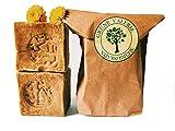 Original Aleppo Seife® 2x180g, 60%Olivenöl 40%Lorbeeröl, über 6 Jahre gereift, PH Wert 8, Detox Eigenschaften, veganes Naturprodukt - Handarbeit hergestellt nach jahrtausend altem Traditionsrezept