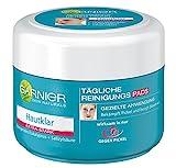GARNIER Hautklar tägliche Reinigungspads Gesicht / Anti-Pickel Gesichtsreinigung (wirksam in nur 5h, porentiefe Reinigung, natürliche Wirkstoffe) - 1er Pack / 56 Stück