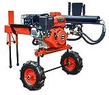 CROSSFER Holzspalter 12 Tonnen Spaltdruck 6,5PS Benzinmotor 1 Zylinder 4 Takt Benzinholzspalter liegend 52cm Spaltlänge