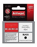 ActiveJet EXPACJACA0023 Tinte AC-20R Refill für Canon BC-20/BX-20, schwarz