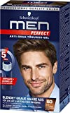 Schwarzkopf Men Perfect Anti-Grau-Tönungs-Gel, 60 Natur Mittel-Braun, 3er Pack (3 x 80 ml)