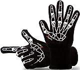 Designer Premium Grillhandschuhe, der GRILL-HINGUCKER, Ofenhandschuhe, 33 cm lang mit EN407 Zertifikat bis 350°C, 1 Paar Backhandschuhe, Kaminhandschuhe, verwendbar auch als Topfhandschuhe, Schutzhandschuhe