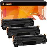 Cartridges Kingdom 3-er Pack Toner kompatibel zu HP CB435A 35A für HP Laserjet P1005, P1006, P1007, P1008, P1009, Canon i-SENSYS LBP-3010, 3100, LaserShot LBP-3018, 3108, 3050, 3150, 3010, 3100