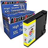Alaskaprint Druckerpatrone kompatibel für Canon PGI-2500XL PGI 2500XL Y Yellow Gelb Canon Maxify MB5150 Canon Maxify MB5450 MB5350 MB5050 iB4050 MB5155 iB4150 MB5455 MB 5150 5450 5350 5050 5155 5455 IB 4150 4050 Drucker Tinte Patronen (Canon 2500 XL Patronen)