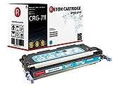 Original Reton Premium Toner, kompatibel, OEM Qualität, Cyan für Canon 711 (2577B002/711C), IMAGECLASS MF8450C, MF8450, Cyan (Colors: 4000 Seiten)