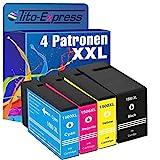 PlatinumSerie® 4x Druckerpatrone XXL kompatibel für Canon PGI-1500 XL Maxify MB 2000 Series MB 2050 MB 2300 Series MB 2350