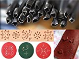 pomcat 20Designs 7mm Form Loch Locheisen Lederarbeiten Leder Handwerk Werkzeuge DIY