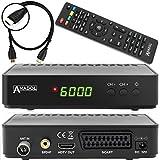 Anadol HD 202c digitaler Full HD Kabel Receiver für digitales Kabelfernsehen inkl. HDMI Kabel...