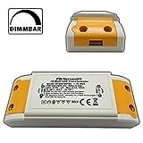 LED Trafo 1 - 70 Watt 12V~ AC (klein und kampakt) - Transformator - Hochleistungstrafo für G4, GU5.3, MR16, MR11 Spots und mehr