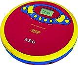 Tragbarer CD-Player MP3-Player mit LCD-Display Discman für Kinder (CD-Spieler, mit Kopfhöhrer,...
