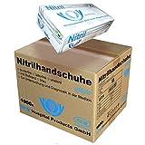 SFM ® SOFTLIGHTS Nitril : XS, S, M, L, XL blau puderfrei F-tex Einweghandschuhe Einmalhandschuhe Untersuchungshandschuhe Nitrilhandschuhe S (1000)
