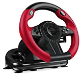 Speedlink Gaming Lenkrad für PS4, PS3, Xbox One, PC - Trailblazer Racing Wheel (Schaltknauf - Gangschaltung - Schaltung - Gas- und Brems-Pedale - Vibration - Controller für Driving Games - Rennlenkrad)