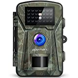 [Upgraded] APEMAN Wildkamera Fotofalle 1080P Full HD 12MP Jagdkamera Weitwinkel Vision Infrarote 20m...