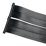 ZELSIUS Solarheizung Poolheizung Sonnenkollektor Solarabsorber Solarmatte für Swimming Pool ca. 600 x 80 cm Schwimmbadheizung