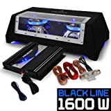 auna Black Line 120 • Car-HiFi-Set • Auto Hifi Lautsprecherset • Autoboxen Set • 25 cm...