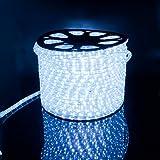 LED Lichterschlauch Lichtschlauch Lichterkette Licht Leiste 36LEDs/M Schlauch für Innen und Außen IP65 20M Kaltweiß