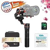 FeiyuTech A1000Handheld Gimbal, (10th Anniversary Edition) Handheld Gimbal-Kamera Stabilisator mit tragbaren Tasche für Nikon/Sony/Canon Serie DSLR Kamera/Gopro Action Kamera/Smartphone und spiegellose Kamera