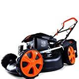 FUXTEC Benzin Rasenmäher FX-RM1850ECO mit 46 cm Motor Easy Clean 4in1 Motormäher getestet mit der Note 1,4 in der HeimwerkerPraxis Fachzeitschrift