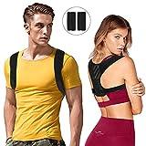 Bukm Haltungskorrektur für eine aufrechteren Haltung Professioneller Geradehalter und Rückenbandage Haltungstrainer Rücken für Damen und Herren-Größenverstellbar