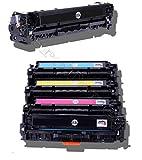 5er Pack Toner patrone Kompatibel zu Canon I-Sensys LBP7100 , LBP7110 , MF8230 , MF8280 CR