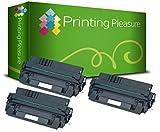 PRINTING PLEASURE 3 Toner kompatibel für HP Laserjet 5000 / 5100 / Canon Imageclass 2200 / 2210 / 2220 / 2250 / LBP-1610 / LBP-1620 / LBP-1810 / LBP-1820 / LBP-62x / LBP-840 / LBP-850 / LBP-870 / LBP-880 / LBP-910 / FP-300 / FP-400 / GP-160F / C4129X / 29X / EP-62 / 3842A002AA Schwarz / Black