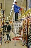 Krause Vario 833037 Podestleiter 8 Stufen