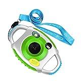 Funkprofi Kinder Kamera Kid Cam Mini Digital Camera Camcorder 5 Megapixel 1,44 Zoll Display Geschenk und Spielzeug für Kinder (Grün)
