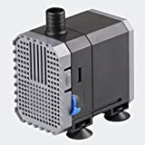 SunSun CHJ-500 ECO Teichpumpe Aquariumpumpe 500 L/h mit nur 6 W