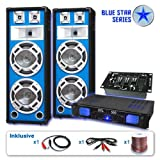 Blue Star Series PA Set Bassveteran USB 1200 Watt