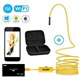 Endoskopkamera Wifi Wireless Wasserdicht Borescope Inspektionskamera 1200P HD Bild für iPhone,...