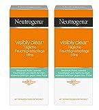 Neutrogena Visibly Clear Tägliche Feuchtigkeitspflege Ölfrei, 2er Pack (2 x 50 ml)