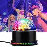 Disco Party Lichter LED Lichteffekte Partybeleuchtung, Infreecs Partylicht Discolicht Diskokugel Lampe Bühnenbeleuchtung [Stimme Steuerung] für Disco, Bar, party, Halloween, Hochzeit, Tanzfläche