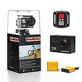 ICONNTECHS IT Action Kamera 4K Wasserdichte Sport Action-Cam für Tauchen Wifi 170 Grad Weitwinkel...