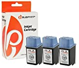 Bubprint 3 Druckerpatronen kompatibel für HP 29 Black DekJet 600