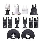 Mix Sägeblätter von Baban 12pcs Oszillierende Klinge Saw Blade Oscillating Elektrische Werkzeuge Für die meisten Modelle