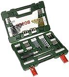 Bosch 2607017195 V-Line Box (mit 91 Bohr- / Schraubwerkzeugen)