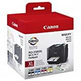 Canon 9254B004 Tintentank Multipack PGI-2500 BK/C/M/Y XL, schwarz/cyan/magenta/gelb
