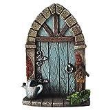 Miniatur Pixie, Elfe, Fairy Tür–Baum Garten Home Decor–Fun Schrulliges Geschenk Figur–9