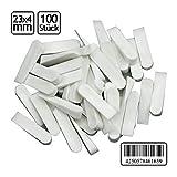 100 Stck Fliesenkeile 23 x 4 mm Fugenkeile Keile PVC Fliesenleger