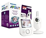 Philips Avent SCD630/26 Video-Babyphone, 3,5 Zoll Farbdisplay