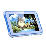 Excelvan Kinder Tablet 7 Zoll Android 4.4 Allwinner A33 Duad Core ROM 8GB Tablet PC für Kids WIFI External 3G Blau