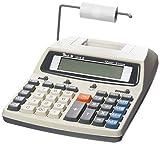 Peach druckender Tischrechner - PR670, 12-stellig (funktioniert mit Netzadapter oder Batterie)