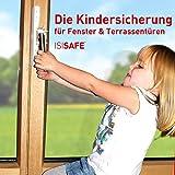 ISI SAFE - die Kindersicherung für Fenster - ohne Bohren!