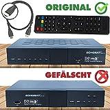 hd-line Echosat 20500 S Digitaler Satelliten HD Receiver (HDTV, DVB-S /DVB-S2, HDMI, AV, 2x USB 2.0,...