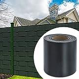 HG® 65mx19cm Sichtschutzstreifen Stabmattenzaun Folie UV-bestädig Doppelseitige Beschichtung für den Gartenzaun oder Balkon