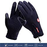 Icesnail Touchscreen Handschuhe, Winddicht Fahrradhandschuhe Laufhandschuhe, Rutschfest Outdoor-Sport Handschuhe Wasserdicht Trainingshandschuhe