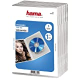 Hama DVD-Hüllen (auch passend für CDs und Blu-rays, mit Folie zum Einstecken des Covers) 5er-Pack,...