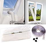 Sichler Haushaltsgeräte Hotairstop: Abluft Fensterabdichtung für mobile Klimageräte, Hot Air Stop (Abluft Fenster Abdichtungen)