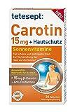 Tetesept Carotin 15mg + Hautschutz, 5er Pack (5 x 30 Stück)